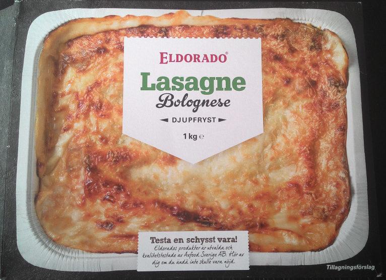 Eldorado Lasagne Bolognese - Produit