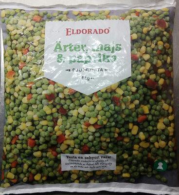 Eldorado Ärter, majs & paprika - Produit - sv
