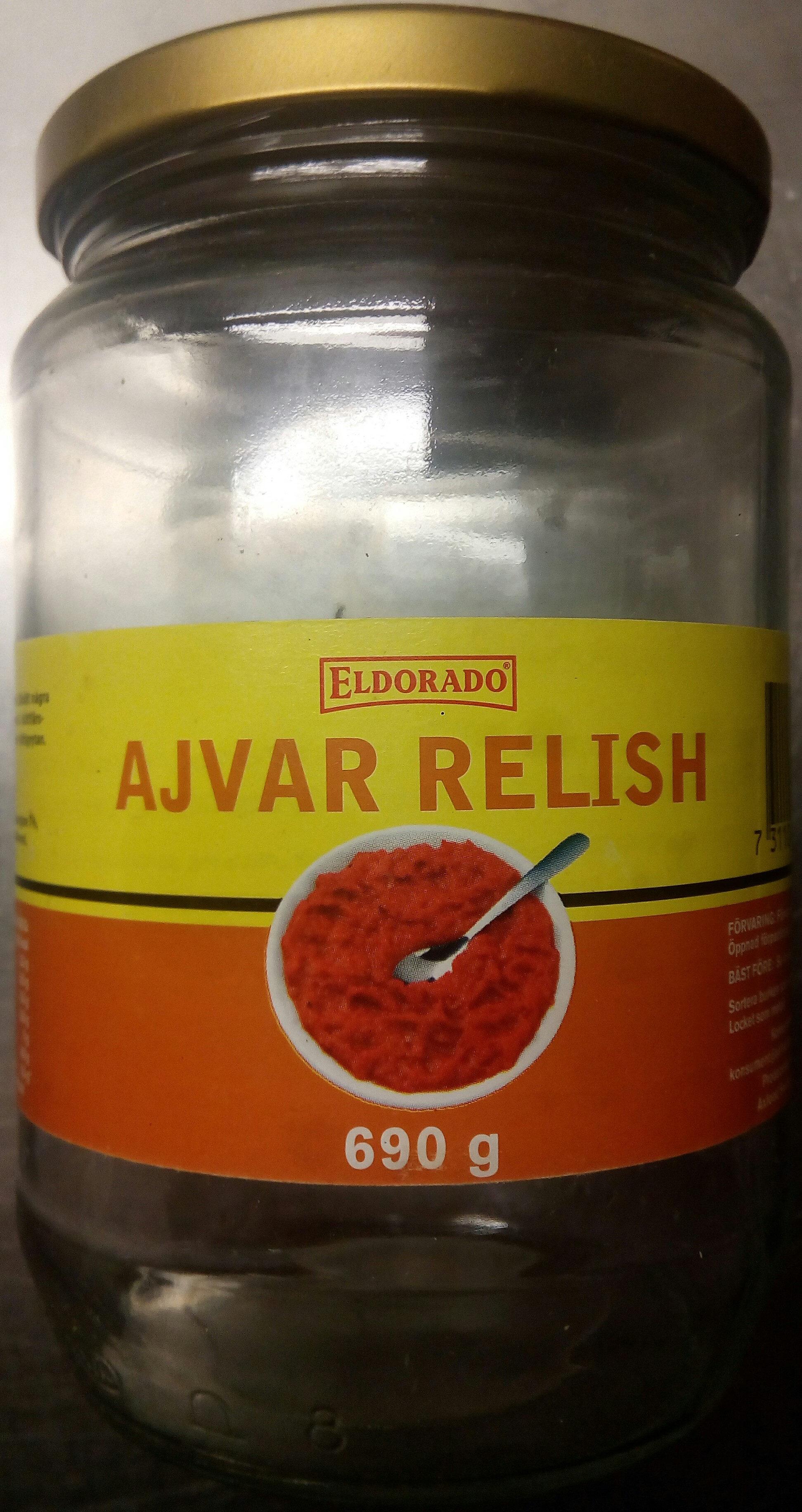 Eldorado Ajvar relish - Produit - sv