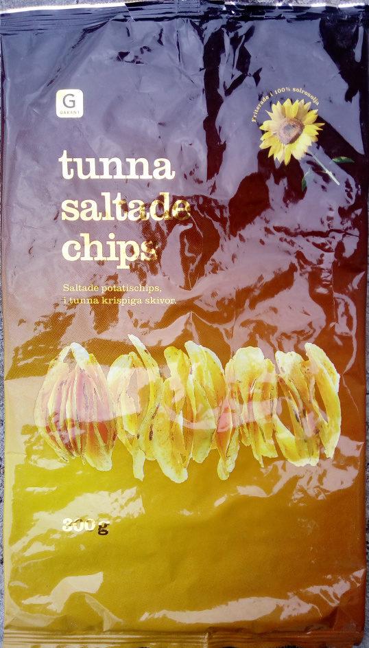 Garant Tunna saltade chips - Product