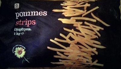 Garant Pommes strips - Produit