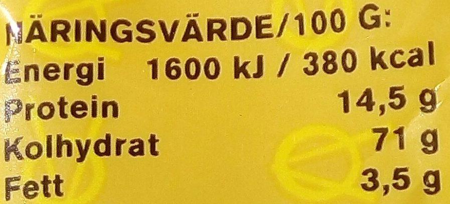 Eldorado Äggnudlar - Informations nutritionnelles - sv