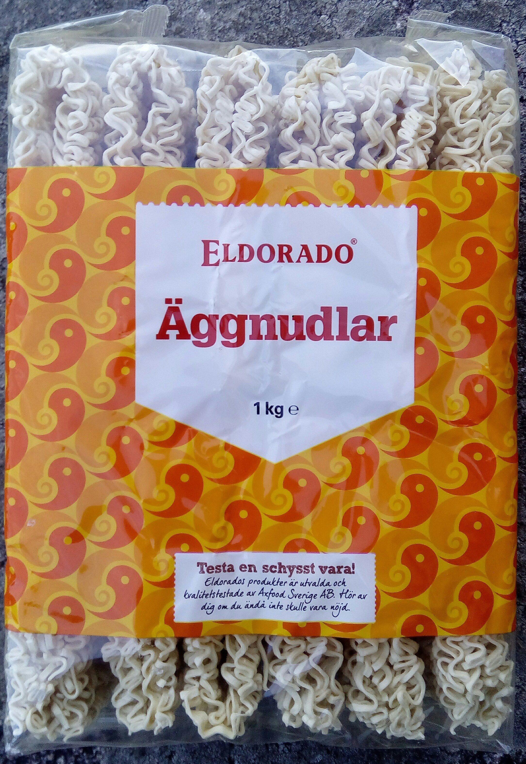 Eldorado Äggnudlar - Produit - sv