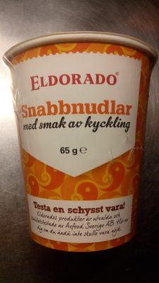 Eldorado Snabbnudlar med smak av kyckling - 1