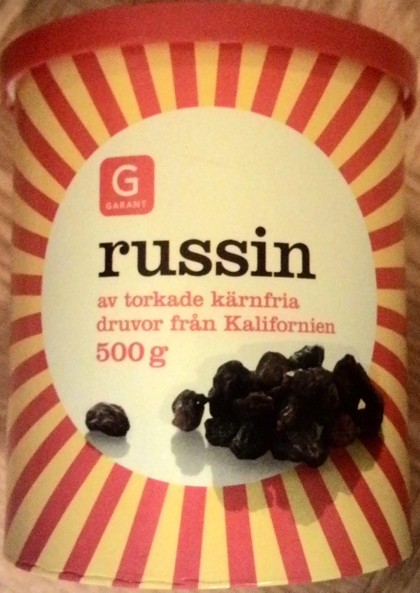 Garant Russin - Produit - sv