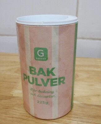 Bak pulver - Produit - es
