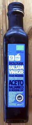 Ekologisk Balsam Vinäger - Produit - sv