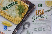 Garant Fiskgratäng med dillsås - Product - sv