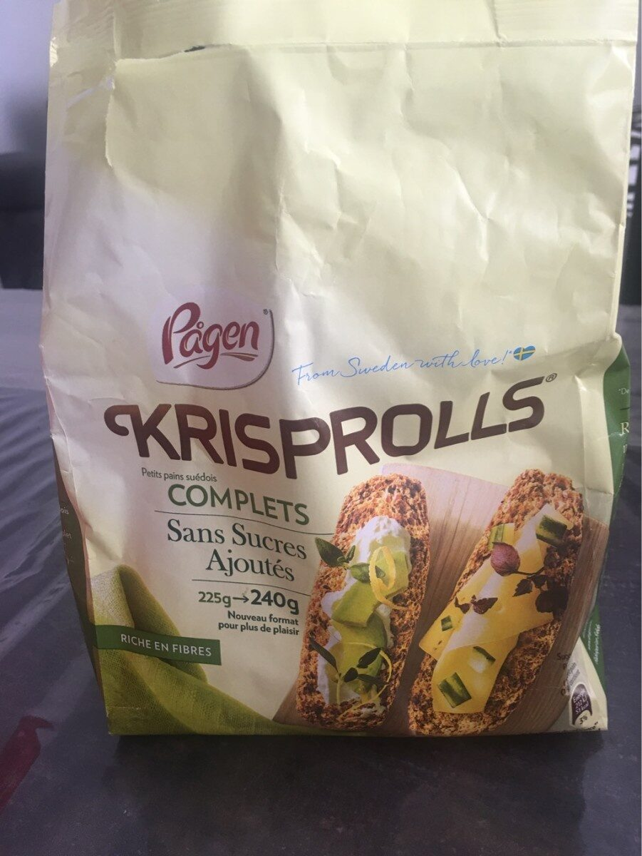 Krisprolls petits pains complets - Product - fr
