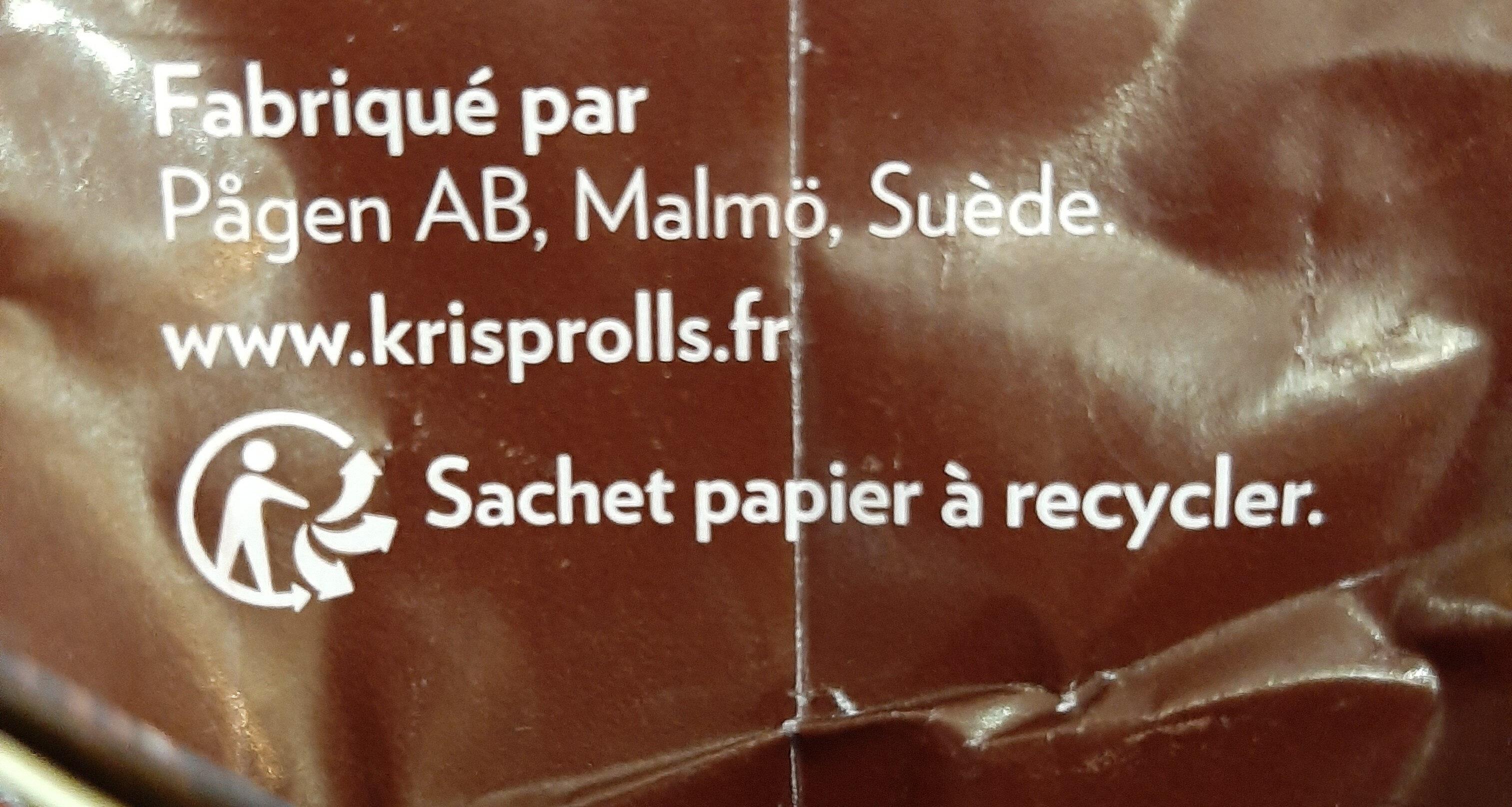 Petits Pains Suédois complets - Instrucciones de reciclaje y/o información de embalaje - fr