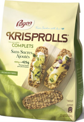 Krisprolls Complets Sans sucres ajoutés - Product - fr