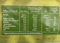 Krisprolls Complets Sans sucres ajoutés - Voedingswaarden - fr