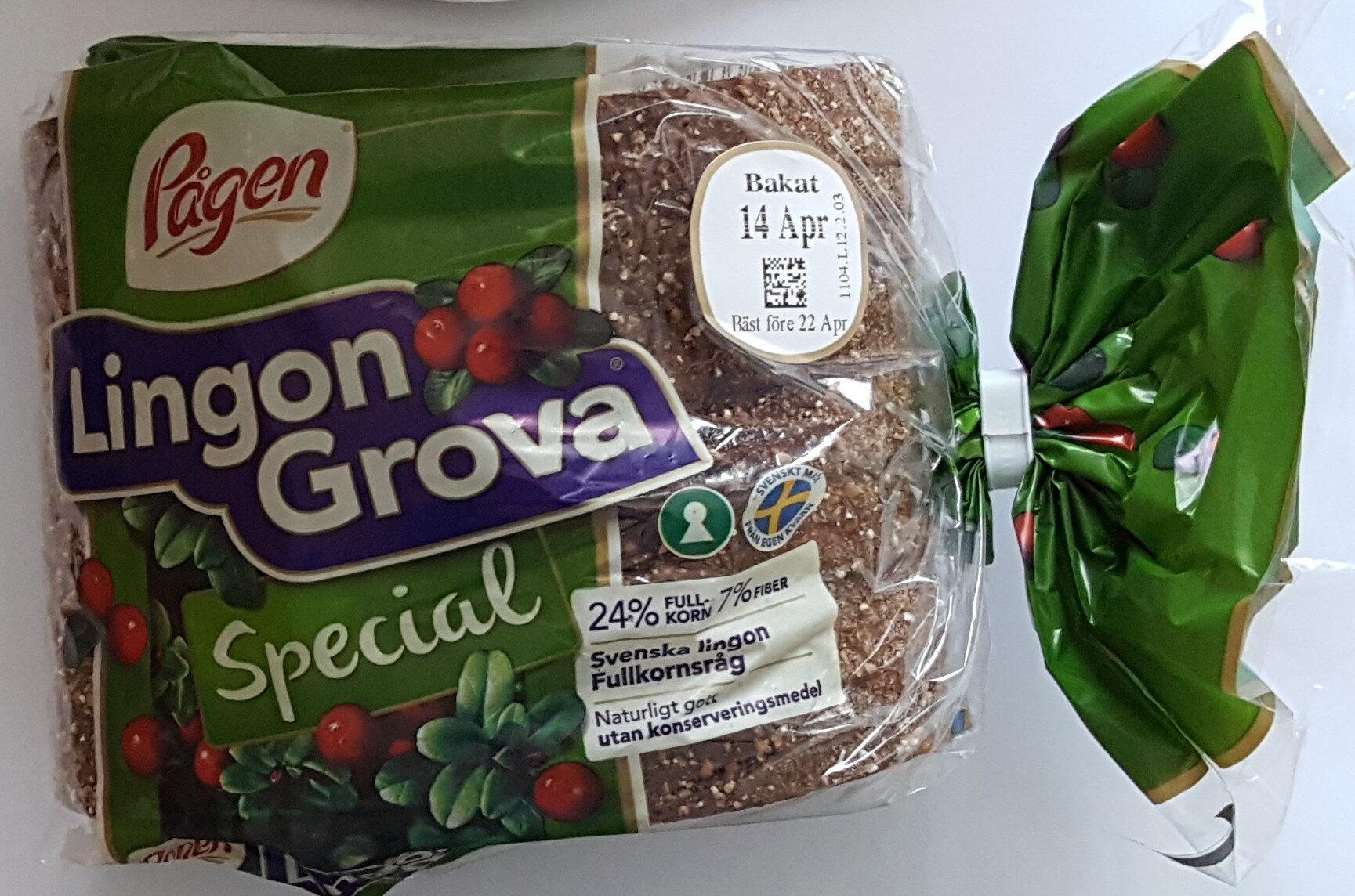 Lingon Grova Special - Produit - sv