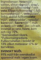 Guldkorn - Ingrédients - sv