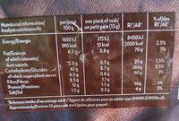 Krisprolls complets - Voedingswaarden - fr