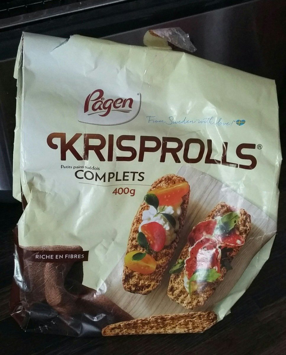 Krisprolls - Ingredients - fr