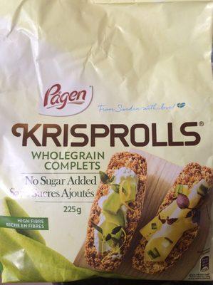 Krisprolls complets - Product - fr