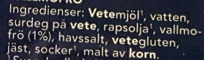 Roast'n Toast - Ingrédients - sv
