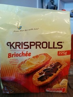 Krisprolls briochée - Product - fr