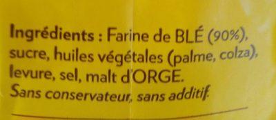 Krisprolls - Ingrediënten - fr