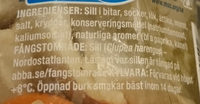 Inlagd sill - Ingredients