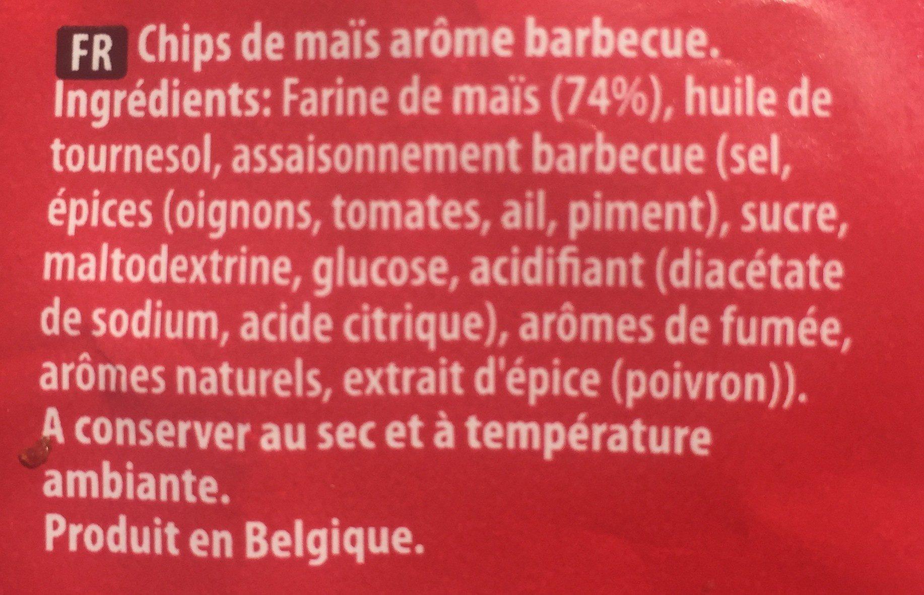 Tortilla chips - Ingrédients - fr