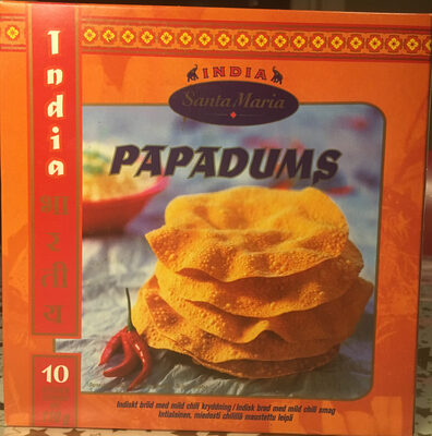 Papadums - Produit - nb