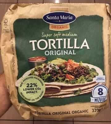 Tortilla ecológica super tierna bolsa 320 g - Product