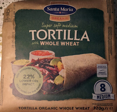Tortilla with whole wheat - Product - en
