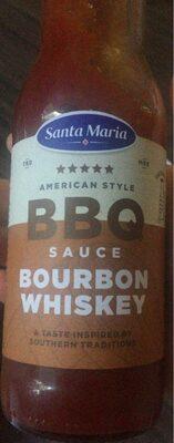 Bbq sauce bourbon whiskey - Produit - fr