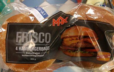 Hamburgerbröd - Produit