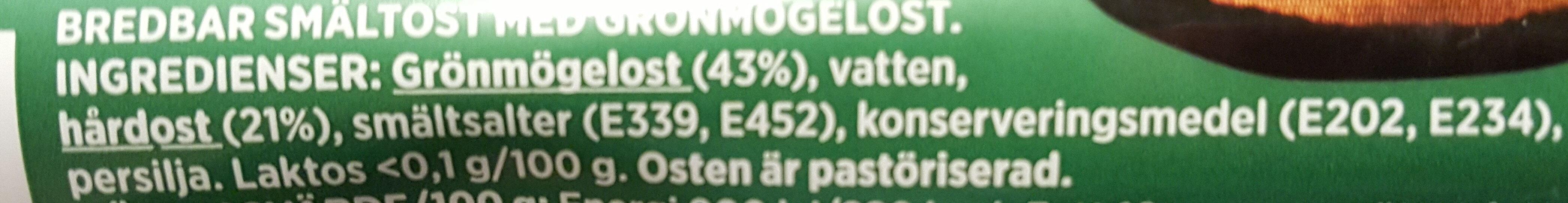 ÄdelOst - Ingredienti - sv