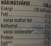 Skyr Vanilj - Informations nutritionnelles - sv