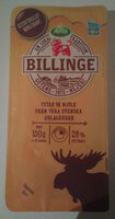 Arla Ko Billinge 26% Skivad - Produit - sv