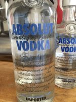 Absolut Vodka - Product