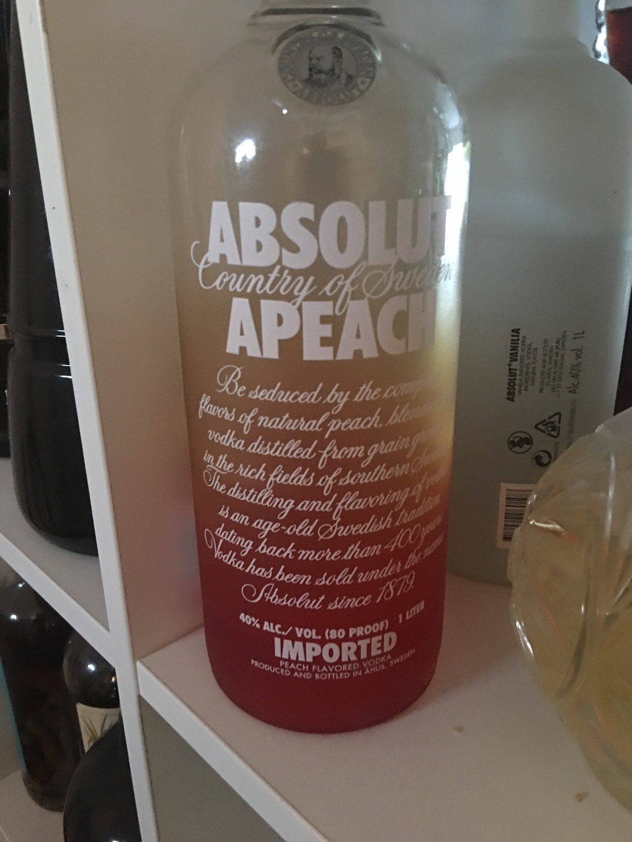 Vodka Absolut Pêche - Product - fr