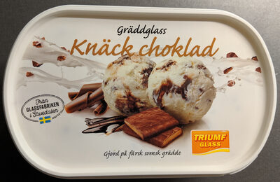 Gräddglass Knäck Choklad - Product