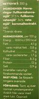 Svenska Havreringbar - Informations nutritionnelles - sv