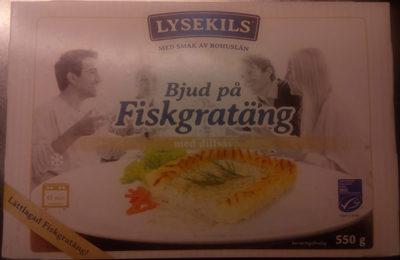 Lysekils Bjud på Fiskgratäng med dillsås - Product