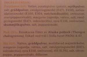 Lysekils Bjud på Fiskgratäng med dillsås - Ingredients