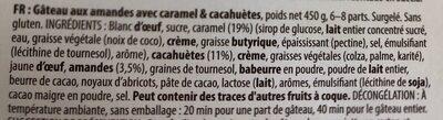 Almondy caramel peanuts - Ingrediënten
