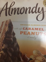 Almondy caramel peanuts - Voedigswaarden