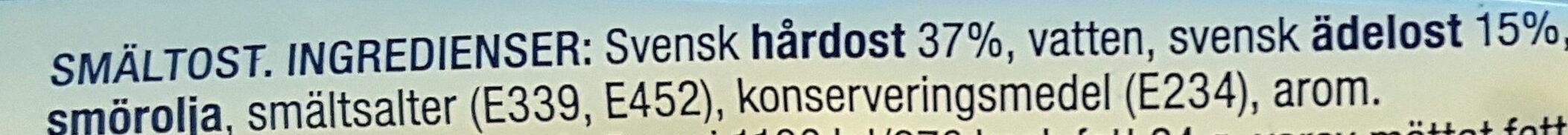 Mild Ädelost - Ingrédients - sv