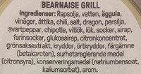 Rydbergs Bearnaise Grill - Ingredients