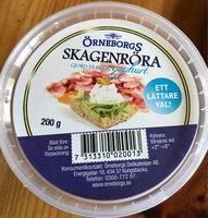 Skagenröra Yoghurt örneborgs - Produit
