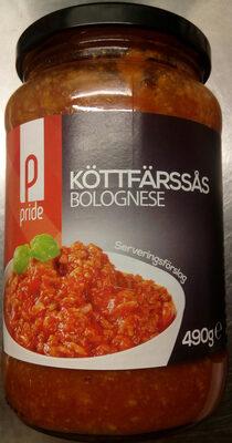 Pride Köttfärssås Bolognese - Produit