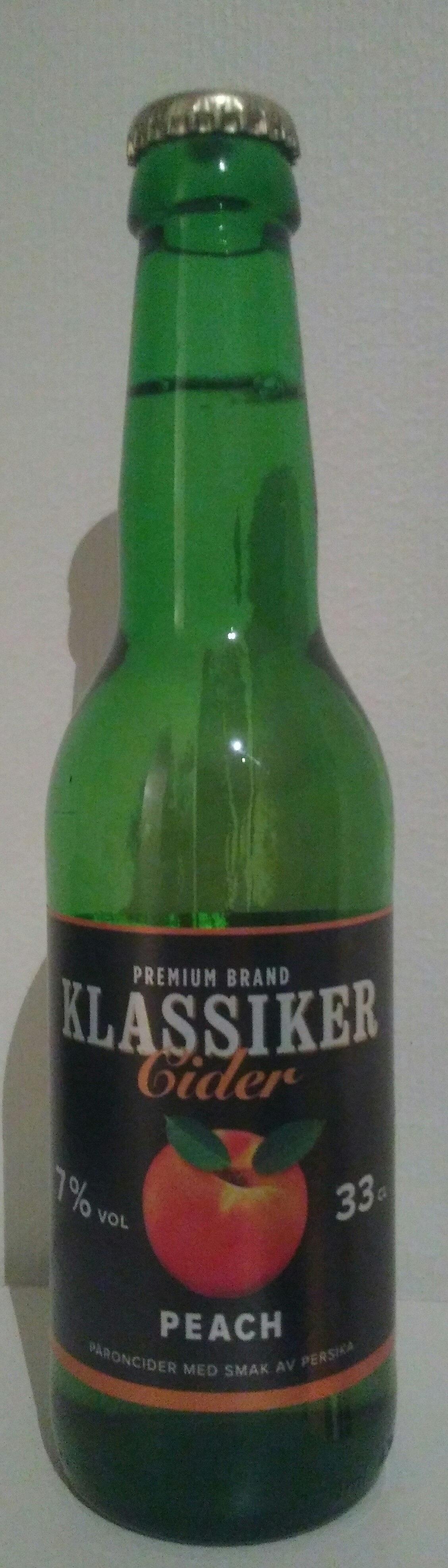 Cider peach - Product