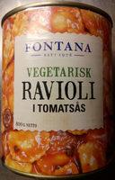 Fontana Vegetarisk Ravioli i tomatsås - Produit