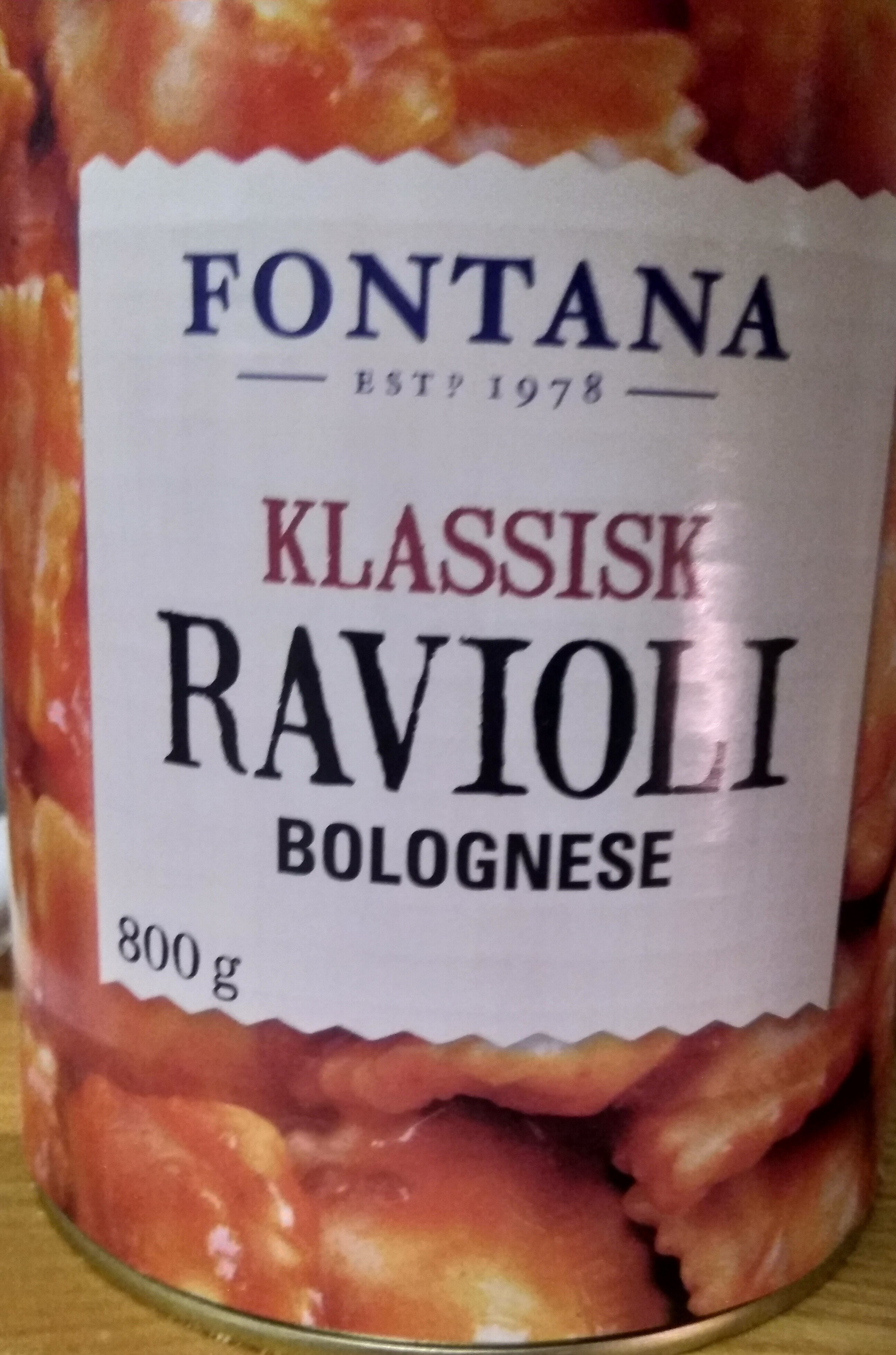 Klassisk RAVIOLI - Product - fi