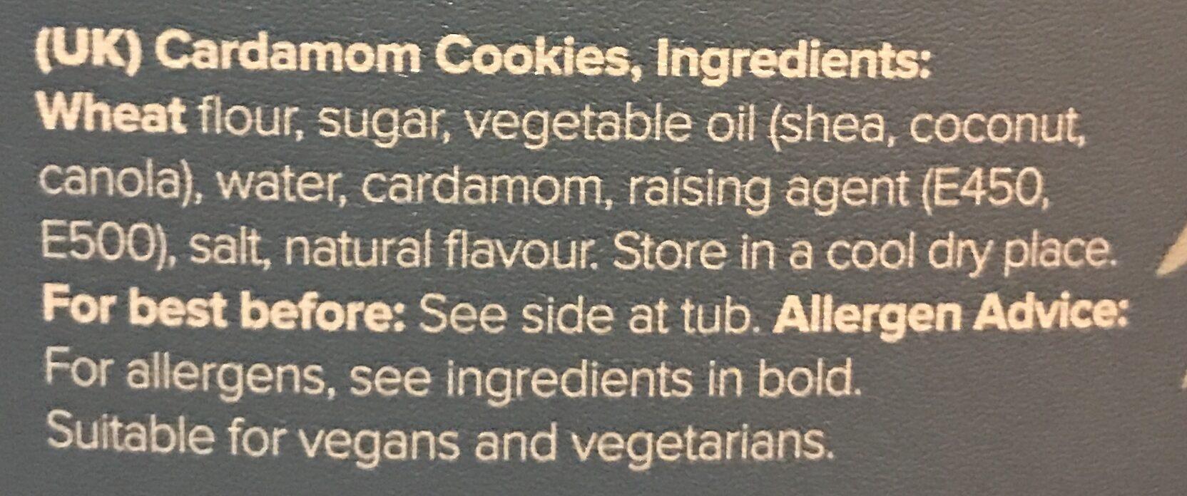 Kardemumma skorpor - Ingredients - en